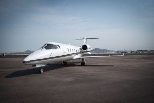 Cutter Aviation Charter LearJet 60 - N843CP - 1