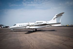 Cutter Aviation Charter LearJet 60 - N843CP - 5