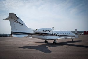 Cutter Aviation Charter LearJet 60 - N843CP - 9