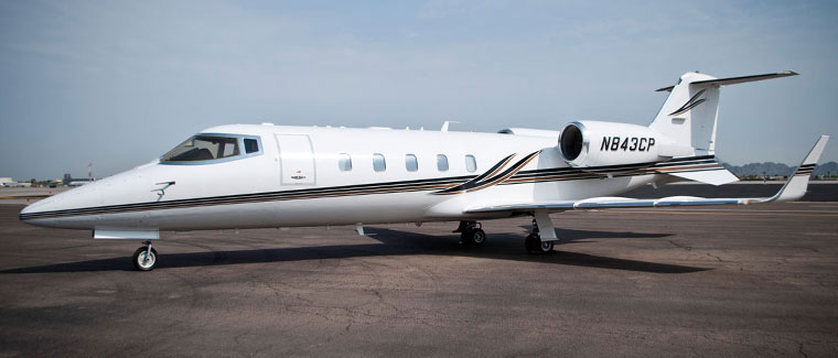 Cutter Aviation Charter LearJet 60 - N843CP